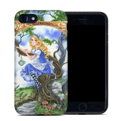 Apple iPhone 7 Hybrid Case - Alice's Tea Time