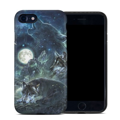 Apple iPhone 7 Hybrid Case - Bark At The Moon