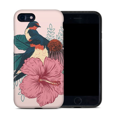 Apple iPhone 7 Hybrid Case - Barn Swallows