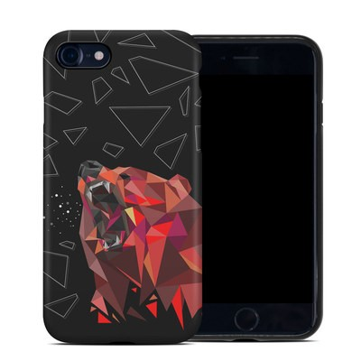Apple iPhone 7 Hybrid Case - Bears Hate Math