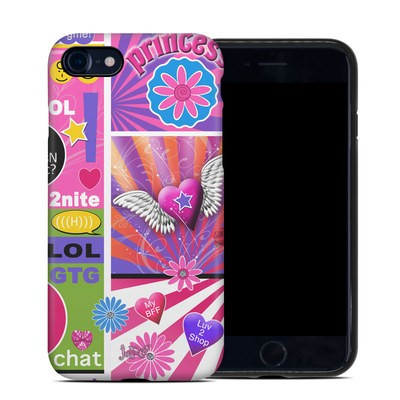 Apple iPhone 7 Hybrid Case - BFF Girl Talk