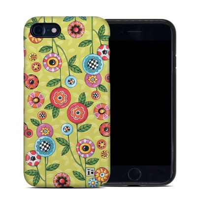 Apple iPhone 7 Hybrid Case - Button Flowers