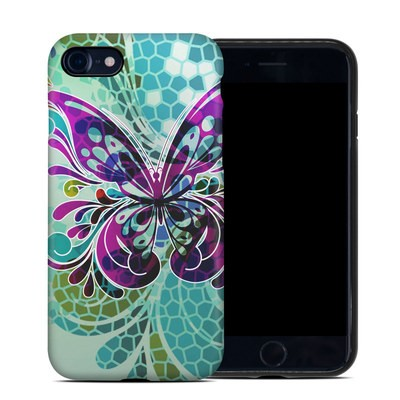 Apple iPhone 7 Hybrid Case - Butterfly Glass