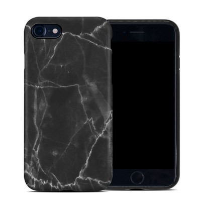 Apple iPhone 7 Hybrid Case - Black Marble