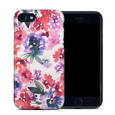 Apple iPhone 7 Hybrid Case - Blurred Flowers