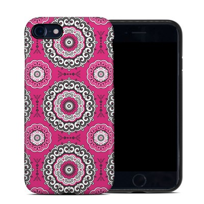 Apple iPhone 7 Hybrid Case - Boho Girl Medallions