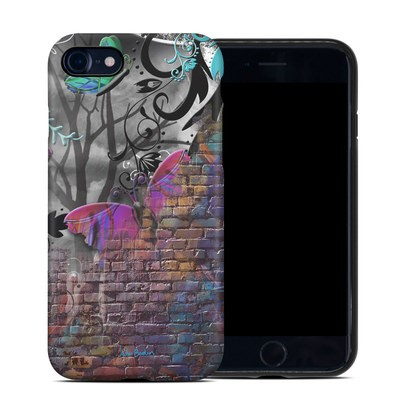 Apple iPhone 7 Hybrid Case - Butterfly Wall