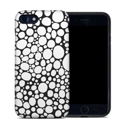 Apple iPhone 7 Hybrid Case - BW Bubbles