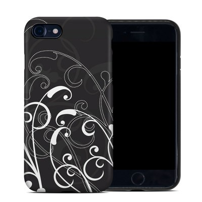 Apple iPhone 7 Hybrid Case - B&W Fleur