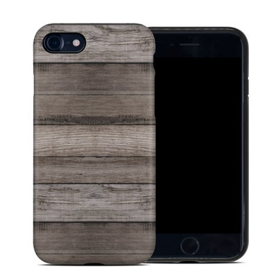 Apple iPhone 7 Hybrid Case - Barn Wood