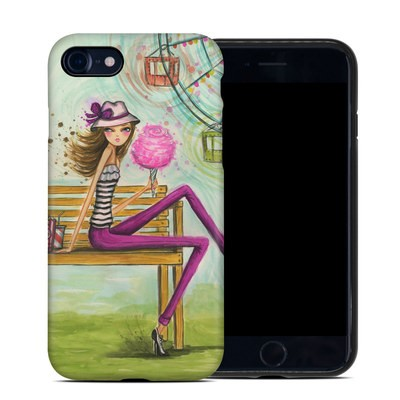 Apple iPhone 7 Hybrid Case - Carnival Cotton Candy
