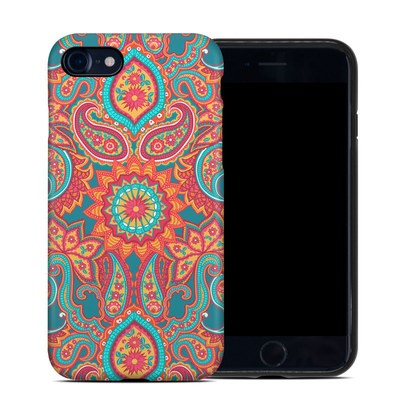 Apple iPhone 7 Hybrid Case - Carnival Paisley