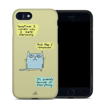Apple iPhone 7 Hybrid Case - Catwad Hate