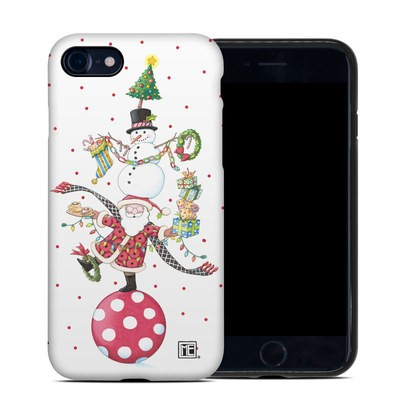 Apple iPhone 7 Hybrid Case - Christmas Circus