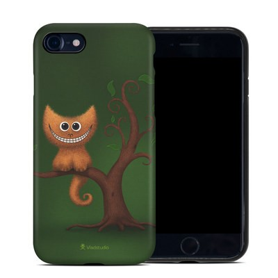 Apple iPhone 7 Hybrid Case - Cheshire Kitten