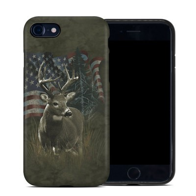 Apple iPhone 7 Hybrid Case - Deer Flag