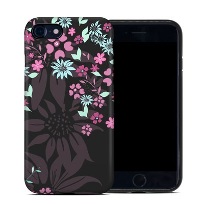 Apple iPhone 7 Hybrid Case - Dark Flowers