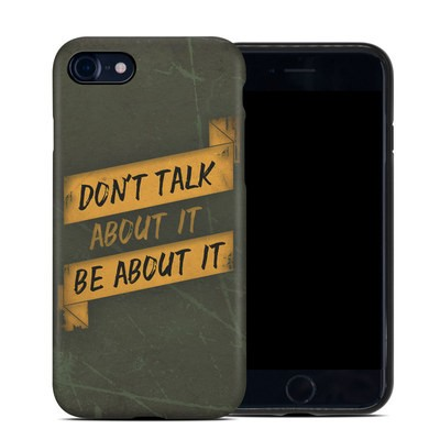 Apple iPhone 7 Hybrid Case - Don't Talk