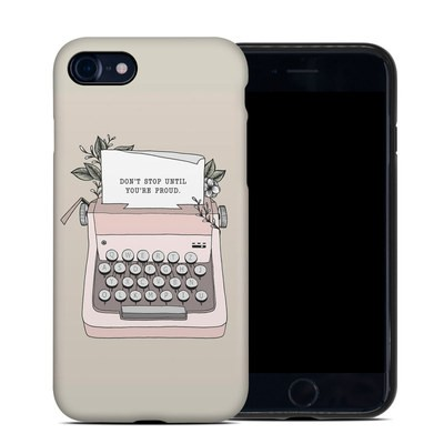 Apple iPhone 7 Hybrid Case - Dont Stop