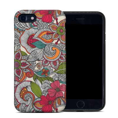 Apple iPhone 7 Hybrid Case - Doodles Color