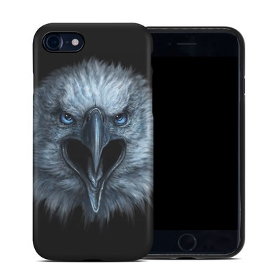 Apple iPhone 7 Hybrid Case - Eagle Face