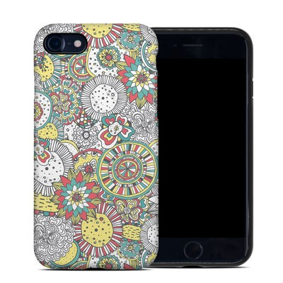 Apple iPhone 7 Hybrid Case - Faded Floral