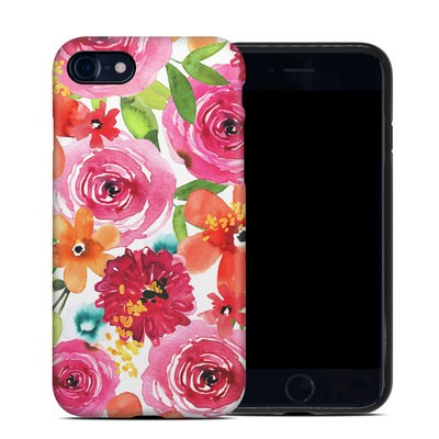 Apple iPhone 7 Hybrid Case - Floral Pop