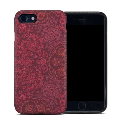 Apple iPhone 7 Hybrid Case - Floral Vortex