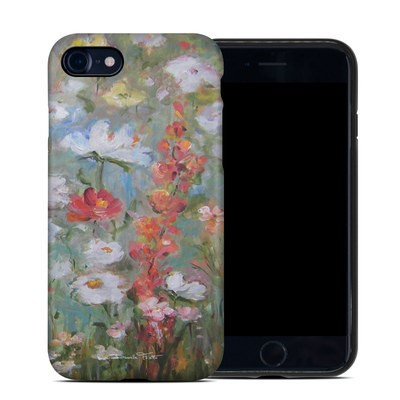 Apple iPhone 7 Hybrid Case - Flower Blooms