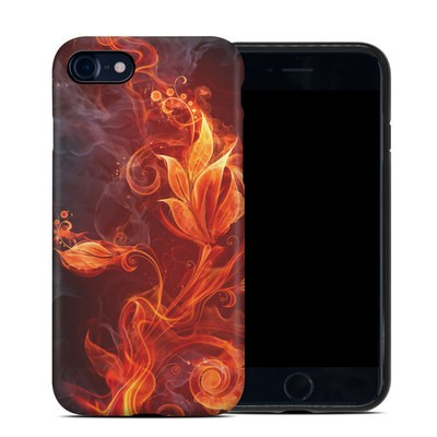 Apple iPhone 7 Hybrid Case - Flower Of Fire