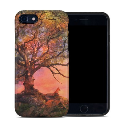 Apple iPhone 7 Hybrid Case - Fox Sunset