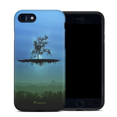 Apple iPhone 7 Hybrid Case - Flying Tree Blue