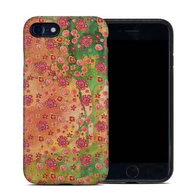 Apple iPhone 7 Hybrid Case - Garden Flowers