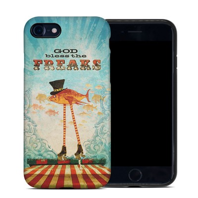 Apple iPhone 7 Hybrid Case - God Bless The Freaks