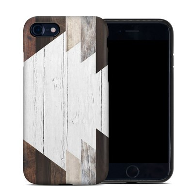 Apple iPhone 7 Hybrid Case - Geo Wood