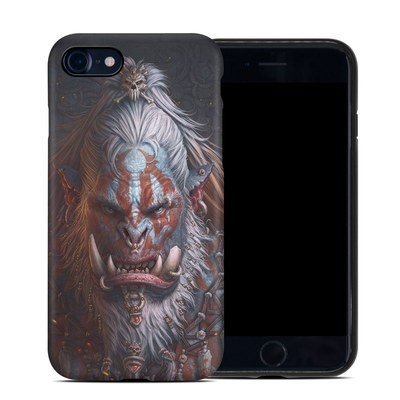 Apple iPhone 7 Hybrid Case - Gruddur Orangefist