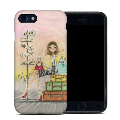 Apple iPhone 7 Hybrid Case - The Jet Setter