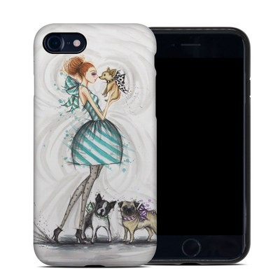 Apple iPhone 7 Hybrid Case - A Kiss for Dot