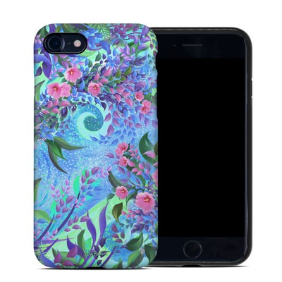 Apple iPhone 7 Hybrid Case - Lavender Flowers