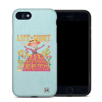 Apple iPhone 7 Hybrid Case - Life is Short