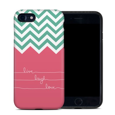 Apple iPhone 7 Hybrid Case - Live Laugh Love