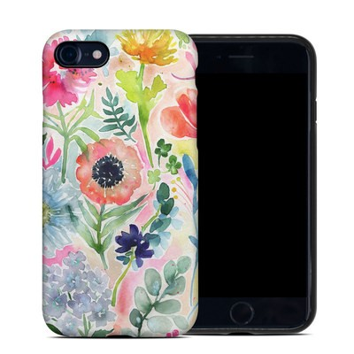 Apple iPhone 7 Hybrid Case - Loose Flowers