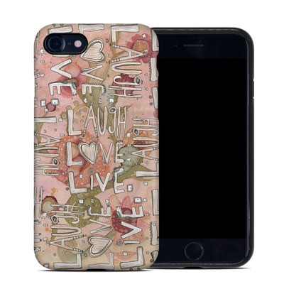 Apple iPhone 7 Hybrid Case - Love Floral
