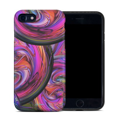 Apple iPhone 7 Hybrid Case - Marbles