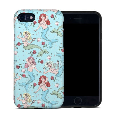 Apple iPhone 7 Hybrid Case - Mermaids and Roses