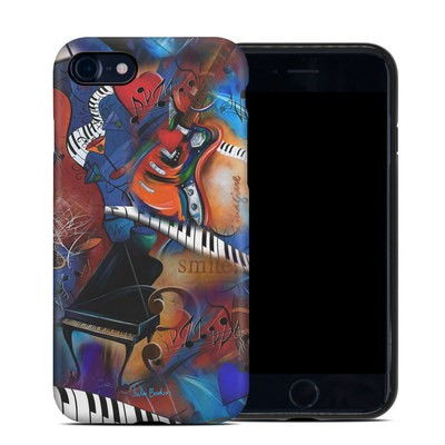 Apple iPhone 7 Hybrid Case - Music Madness