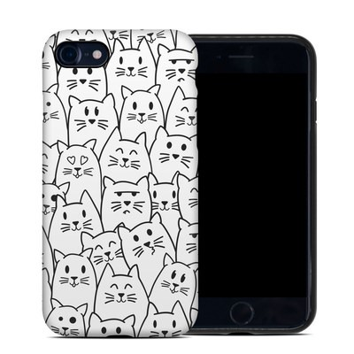 Apple iPhone 7 Hybrid Case - Moody Cats
