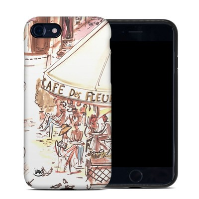 Apple iPhone 7 Hybrid Case - Paris Makes Me Happy