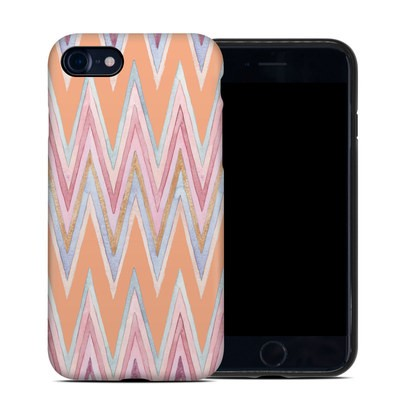Apple iPhone 7 Hybrid Case - Pastel Chevron
