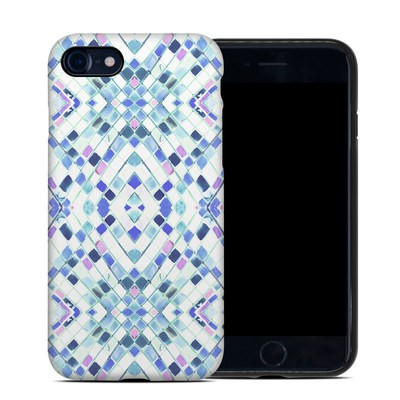 Apple iPhone 7 Hybrid Case - Pastel Geo